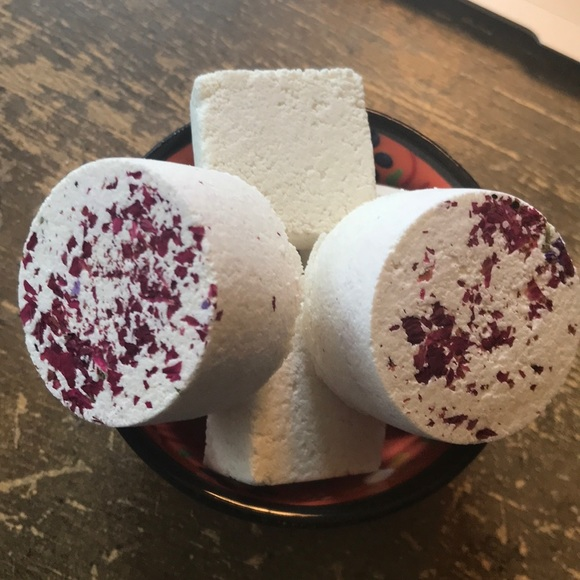 **SOLD** 6 Rose Scented Shower Steamers